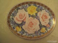 50. évfordulós,ANGOL porcelán dísztányér-/limitált kiadású/-