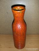 Iparművész Tófej kerámia váza (fp-3)