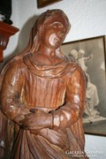Mária szobor - sérült