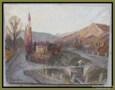 Hranitzky Ilona 1889- Kirándulás Budán