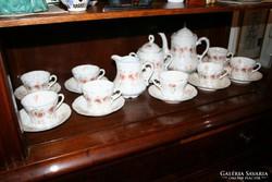 Szecessziós teás-kávéskészlet