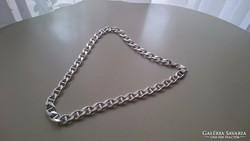 Ezüst GUCCI nyaklánc súlyos vastag dekoratív darab (103gr)