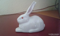 Fehér nyuszi - 9x7,5 cm