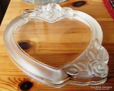 Szív alakú üveg képkeret Walter Glas
