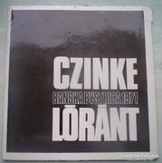 Czinke - Lóránt katalógus 1971.
