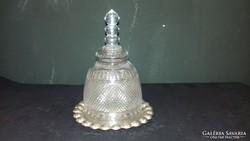 Sajt / Vaj kínáló ezüst aljal