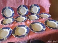 6 db Süteményes porcelán tányér  Á005