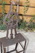 200 éves kovácsoltvas Mester gerenda fúró szerszám