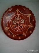 Szekszárdi falitányér, tányér