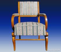 0A215 Antik karfás biedermeier fotel