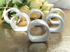 Porcelán szalvétagyűrűk