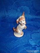 Aquincumi porcelán kutyus figura