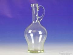 0I910 Régi asztali kínáló üveg 20 cm