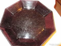 Francia Arcopál üveg mély tényér  Á009