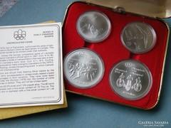 Ap 271 - Kanada 1976 Montreál olimpia ezüst érem szett