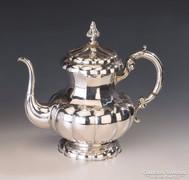 Ezüst nagyméretű teáskanna