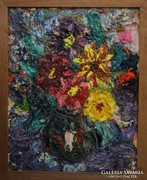 Bartos Endre /1930-2006/ Virágcsendélet