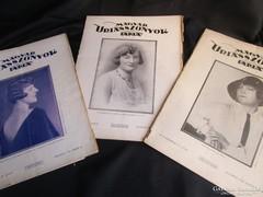 MAGYAR ÚRIASSZONYOK LAPJA 3 ÚJSÁG kézimunka ételrecept 1929
