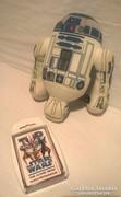 Márka jelzett Starwars kártya és R2D2 kabala