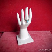 Larimar köves ezüst gyűrű