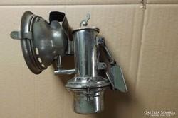 Antik 1800 karbid lámpa veterán kerékpár motor Favorit