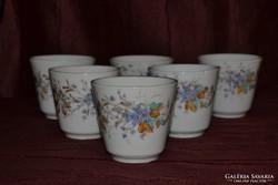 6 db régi csésze ( 15 )