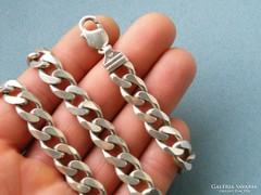 Ap 334 -  94.5 gr vastag pancer típusú ezüst nyaklánc 925