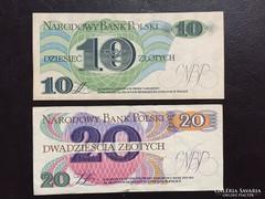 10, 20 zloty