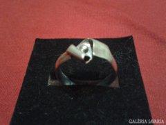 Ezüst kézműves gyűrű