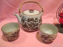 Kerámia  2 személyes teás kávés készlet Á0113