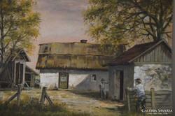 Kalcsó József (1952-) : Faluhelyen