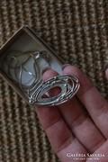 Izraeli ezüst medál+ lánc