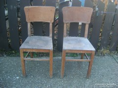 "Retro szék - két darab - ""MSZMP""  jelzéssel"