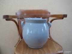 Zsolnay  köcsög  , sérült 26 cm