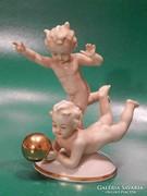 Grafenthal gyerekek labdával