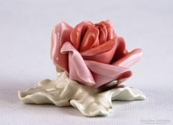 0J809 Régi német porcelán ENS rózsa