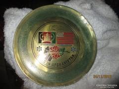 Falitányér / Afghanistan & America U.S.A. Ritkaság!