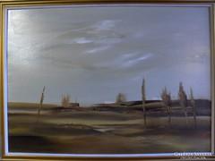 Szabados János : Táj c. festménye