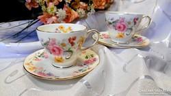 Duchess márkájú Memories megnevezésű angol porcelán duó