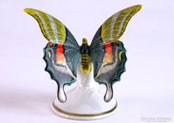 0J749 Régi jelzett Rosenthal porcelán pillangó