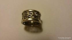 925 mintás ezüst karikagyűrű