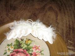 Antik régi vintage karácsonyfadísz angyal szárny