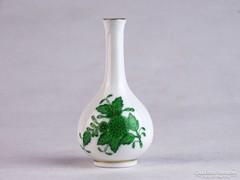 0K192 Antik herendi porcelán ibolyaváza 8.5 cm