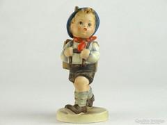 0K333 Antik Hummel porcelán iskolás kisfiú
