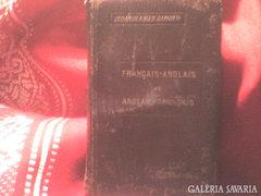 FRANCIA-ANGOL-/-ANGOL-FRANCIA SZÓTÁR--RITKASÁG