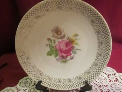201. Bavaria Mitterteich süteményes tányér 19 cm