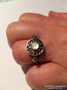 Ezüst nyaklánc, gyűrű, karkötő és fülbevaló