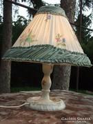 Herendi lámpa bécsi rózsás új vezetékkel