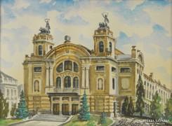 0J675 Nemzeti Színház Kolozsvár Bokor E. jelzéssel