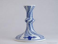 0J688 Régi MEISSENI porcelán gyertyatartó 16 cm